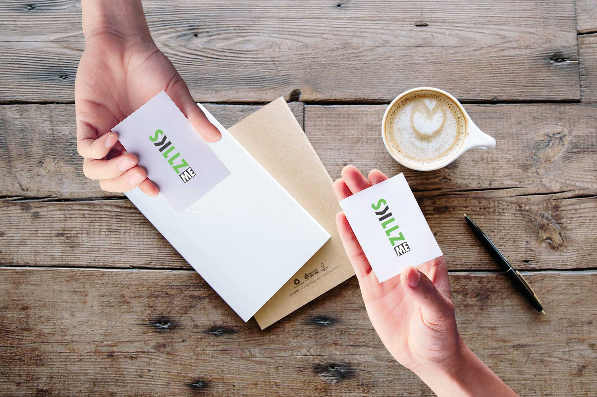 Add your business card in all your letters