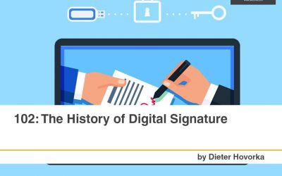 102: The History Of Digital Signatures [Infographic]