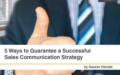 5 Ways to Guarantee a Successful Sales Communication Strategy