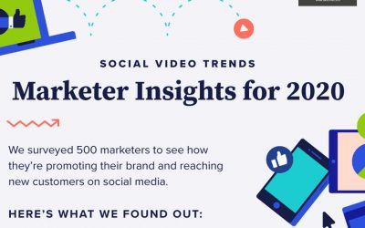 Social Video Trends Marketer Insights for 2020 [Infographic]