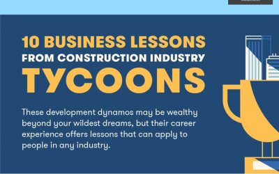 10 Transferable Lessons From a Construction Tycoon [Infographic]