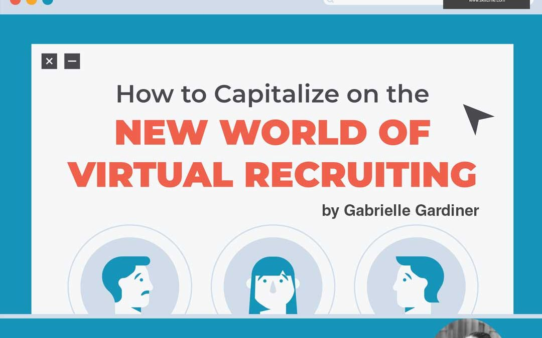 How to Land a Job by Working with a Recruiter Virtually [Infographic]