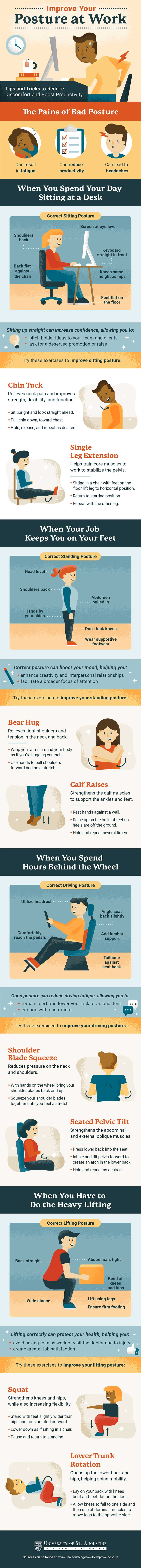How to Improve your Posture at Work