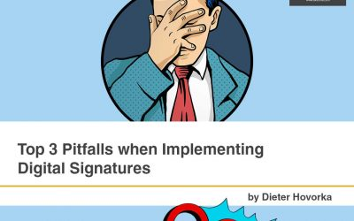 Top 3 Pitfalls when Implementing a Digital Signature