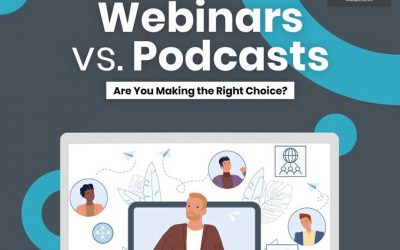 Webinars vs Podcasts: Are You Making the Right Choice? [Infographic]
