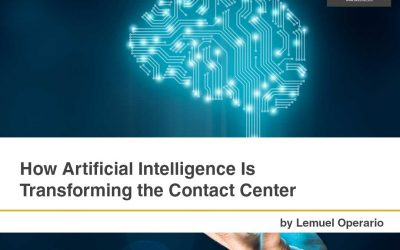 How Artificial Intelligence Is Transforming the Contact Center