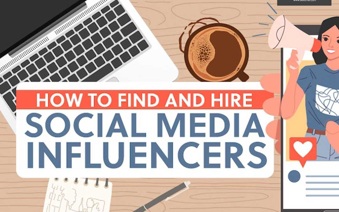 How to Find and Hire Social Media Influencers [Infographic]