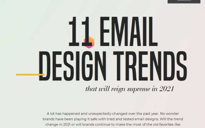 11 Email Design Tips for 2021 [Inforgaphic]