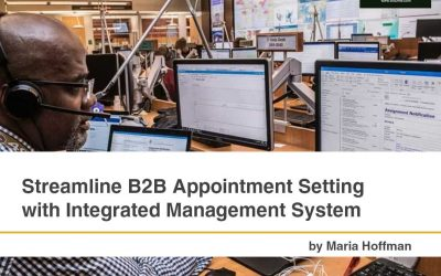 B2B Appointment Setting with Integrated Management System