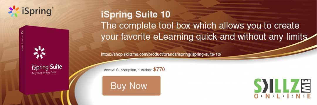 Buy Today iSpring Suite 10