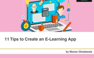 11 Tips to Create an E-Learning App