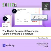 The Digital Enrolment Experience: Online Form and e-Signature