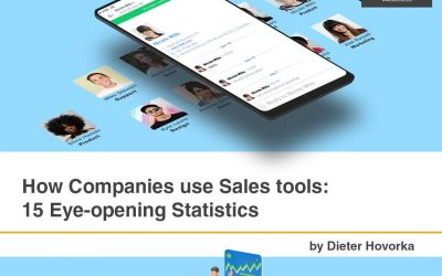 How Companies use Sales Tools: 15 Eye-opening Statistics [Infographics]