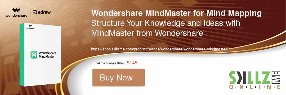 Buy Today Wondershare Mindmaster