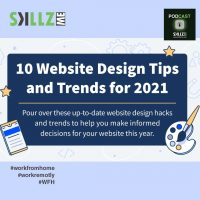 Tips for Great Website Design in 2021 [Infographic]